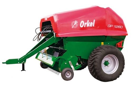 Пресс-подборщик вальцовый Orkel GP 1260